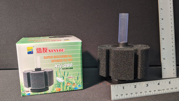 Coarse Aquarium Sponge Filter XY-280 | 6