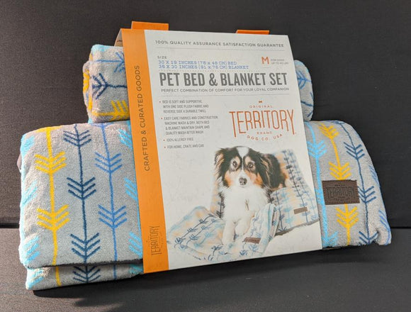 Territory Pet Blanket Set