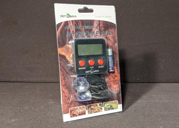 Reptizoo Digital Thermo/Hygrometer
