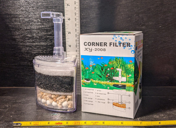 Corner Aquarium Filter XY-2008 | 6.5