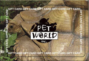 Pet World Lawrence In-Store Gift Card