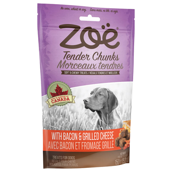 Zoe Tender Chunks Cheese & Bacon 5oz