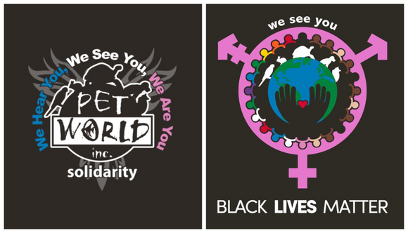 Pet World Solidarity T-Shirts