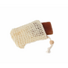 Bass Body Care Sisal Soap Holder Pouch in situ