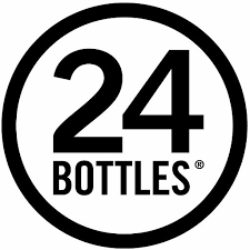 24Bottles - Bike and Backpack Bottle Holder - Black - Fits 500ml to 750ml Bottles - Raw Cottage