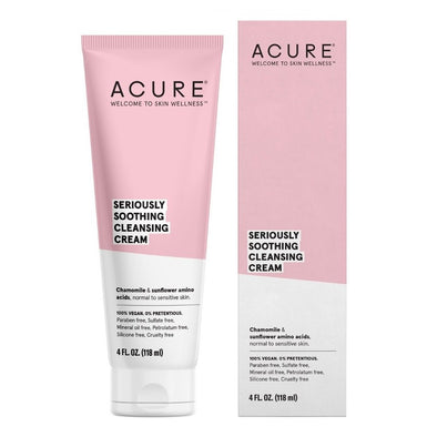 Acure - Seriously Soothing Cleansing Cream - 118ml - Raw Cottage