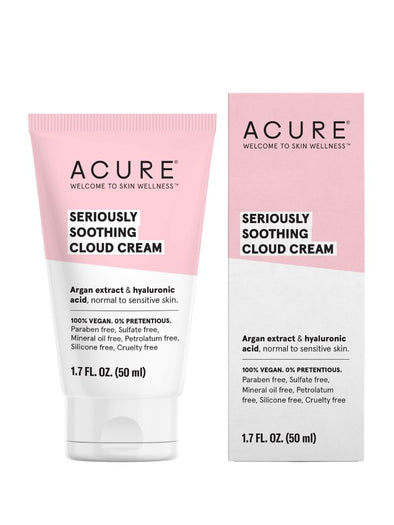 Acure - Seriously Soothing Cloud Cream - 50ml - Raw Cottage