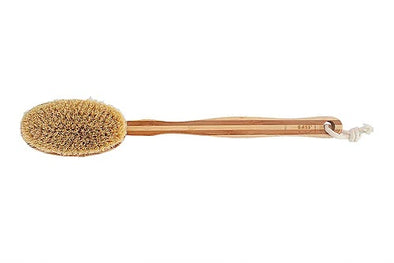 Bass Brushes - Bamboo Dry Skin Brush - Raw Cottage