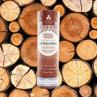 Ben & Anna - Natural Soda Deodorant Stick - Nordic Timber 60g - Raw Cottage