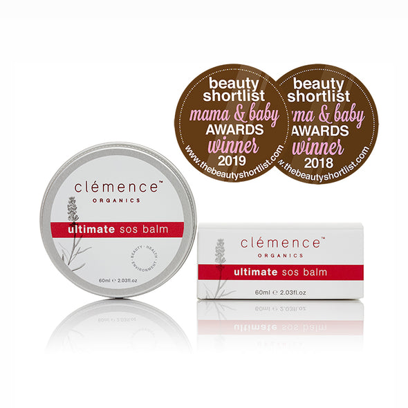 Clemence Organics - Ultimate SOS Balm - 60ml - Raw Cottage