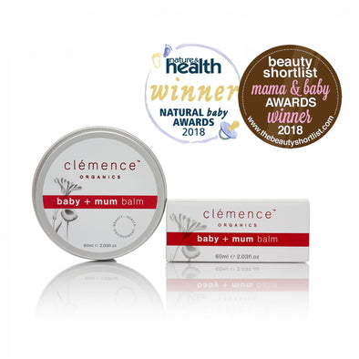 Clemence Organics - Baby + Mum Balm - 60ml - Raw Cottage