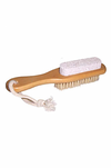 Clover Fields - Wooden Pumice Brush Combo - Raw Cottage