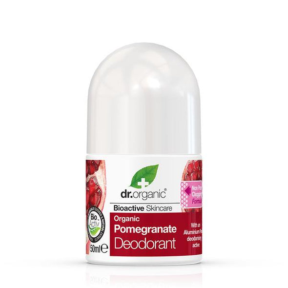 Dr. Organic Pomegranate Deodorant – 50ml Roll-on
