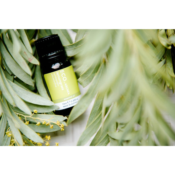 ECO Aroma - Lemongrass Pure Essential Oil - 10ml - Raw Cottage