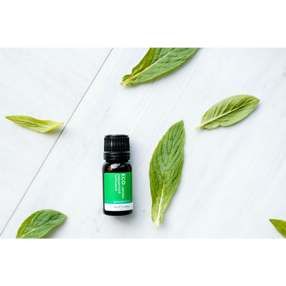 ECO Aroma - Peppermint Pure Essential Oil - 10ml - Raw Cottage