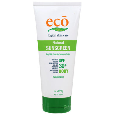 Eco Logical Natural Body Sunscreen – SPF 30+ 150g - Raw Cottage