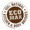 Eco Max - Dry Body Brush - Soft Bristle - Raw Cottage