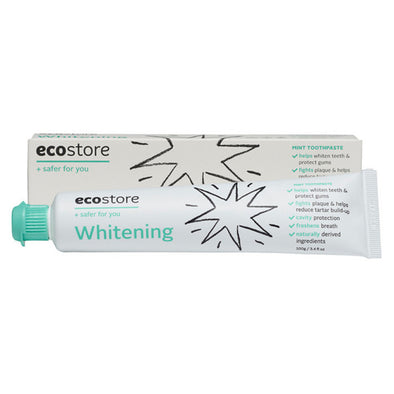 Ecostore - Toothpaste Whitening - 100g Tube - Raw Cottage