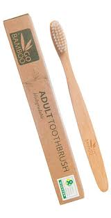 Go Bamboo - Adult Toothbrush - Raw Cottage