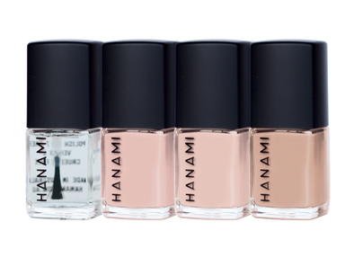 Hanami Nail Polish –Matinee Mini Set – 4 x 9 mL