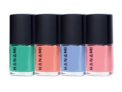 Hanami Nail Polish – Voyage Mini Set – 4 x 9 mL