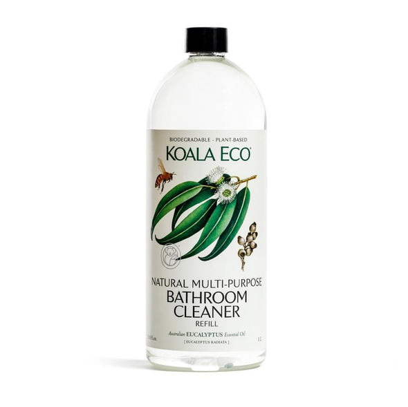 Koala Eco – Multi-Purpose Bathroom Cleaner – Eucalyptus– 1 Litre Refill Bottle