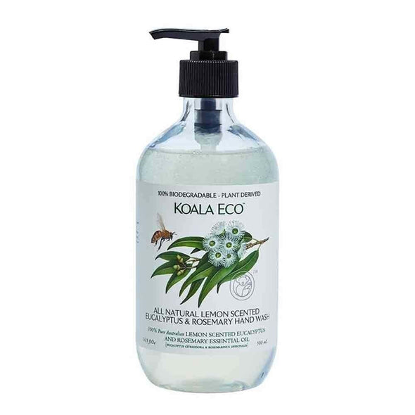 Koala Eco – Hand Wash – Lemon, Eucalyptus & Rosemary – 500ml