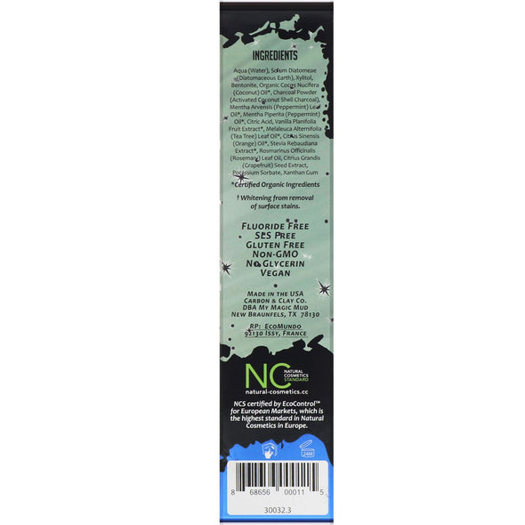 My Magic Mud - Whitening Toothpaste – Peppermint 113g - Raw Cottage