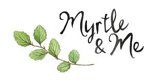 Myrtle & Me – Forget-Me-Not Drop Earrings - Raw Cottage