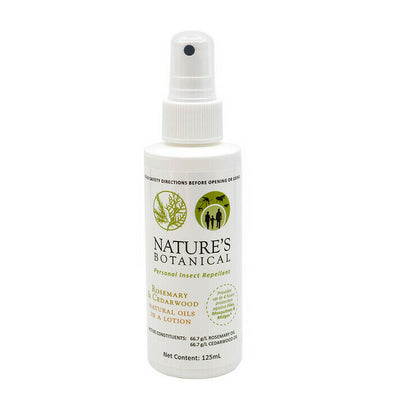 Nature's Botanical - Personal Insect Repellent 125ml Spray Lotion - Raw Cottage