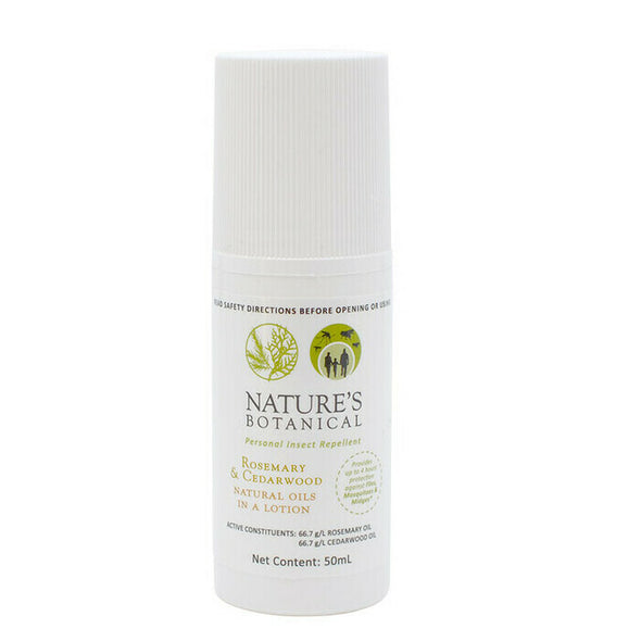 Nature's Botanical - Personal Insect Repellent 50ml Roll-On Lotion - Raw Cottage
