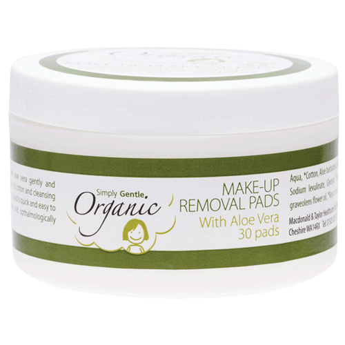 Simply Gentle - Organic Make-up Removal Pads - Raw Cottage