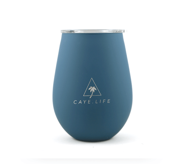 Caye Life - 'Castaway' Thermo Cup - Matte Teal 360ml - Raw Cottage