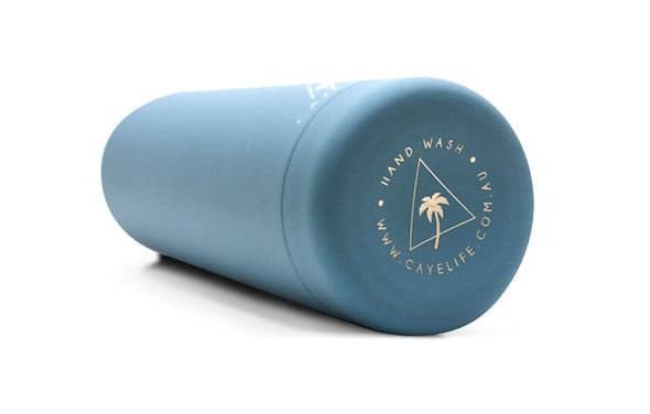 Caye Life - 'Castaway' Drink Bottle - Matte Teal 750ml - Raw Cottage