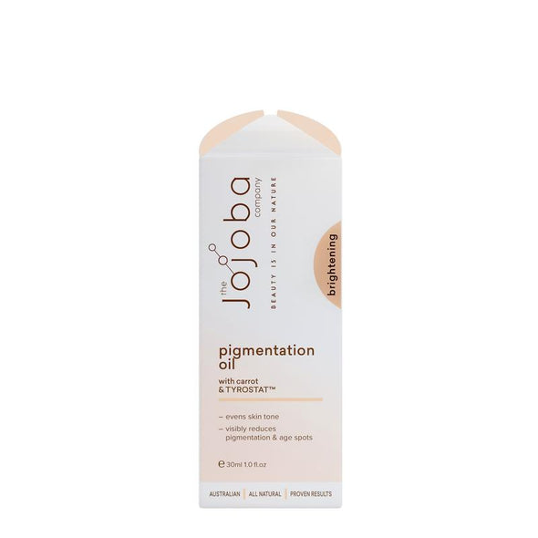 The Jojoba Company – Brightening Pigmentation Oil – 30ml - Raw Cottage