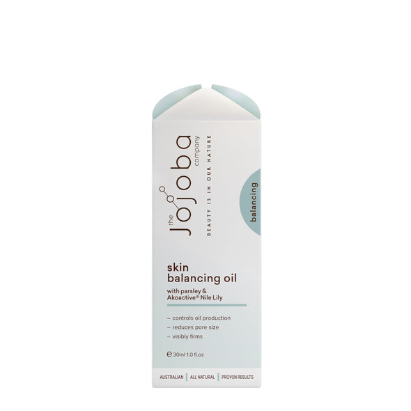 The Jojoba Company – Balancing – Skin Balancing Oil – 30ml - Raw Cottage