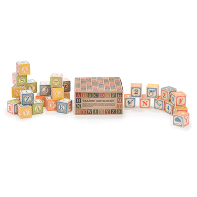 Uncle Goose Classic ABC Blocks - Raw Cottage