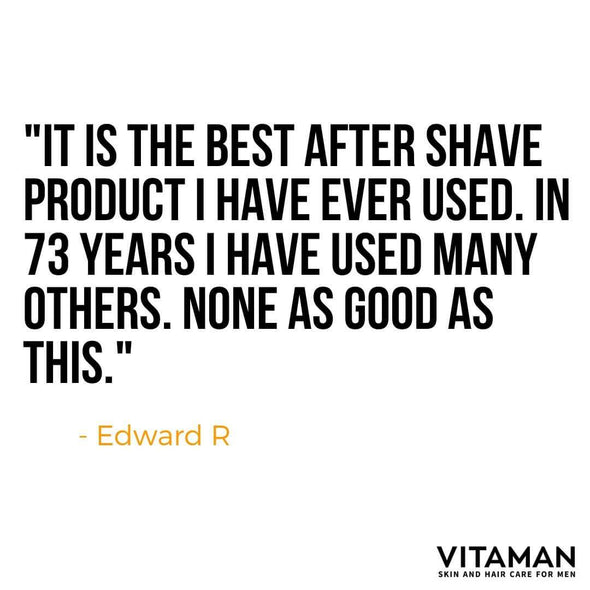 Vitaman After Shave Balm – 100ml Tube