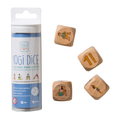 YOGi FUN - YOGi DiCE Game - Raw Cottage