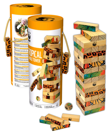 WWF Tropical Tumble Tower - Raw Cottage