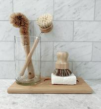 True Harvest - Eco Pot Scrubbing Brush - Raw Cottage