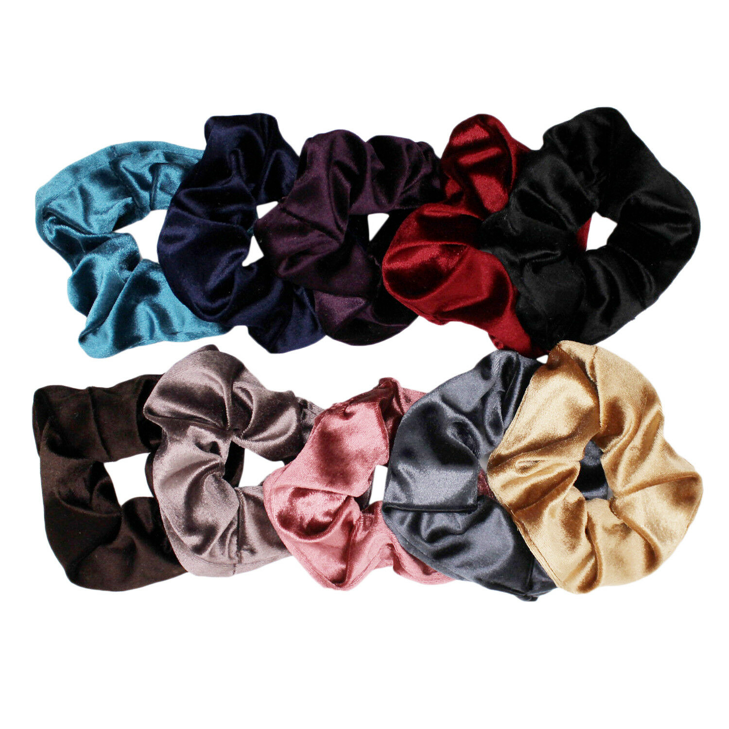 Cute Velvet Scrunchies