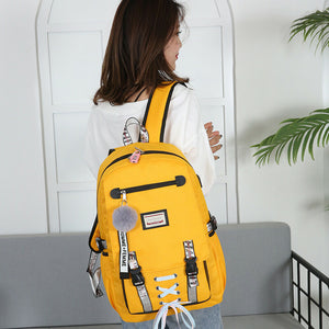 Cute Divas Shoe String Backpack