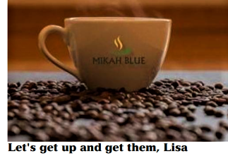 Lets get up and get them Lisa! Mikah Blue feature in the Jamaica Observer