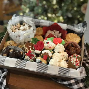 Holiday cookies & sweets tray by Koch's General Store