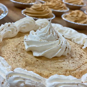 Pumpkin mousse pie by Koch's General Store