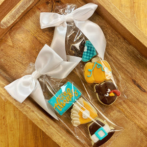 Thanksgiving sugar cookie minis 3 pack by Koch's General Store