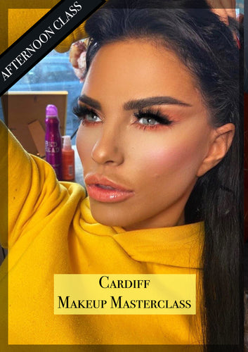 MAKEUP MASTERCLASS - CARDIFF 1ST MAY 2020