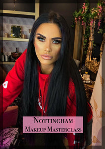 MAKEUP MASTERCLASS - NOTTINGHAM 25TH APRIL 2020