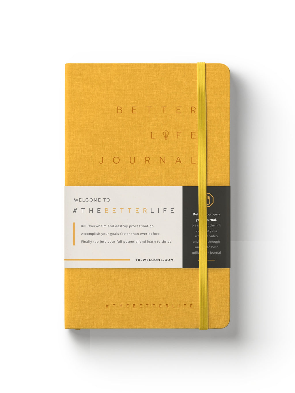 The Better Life Journal (Gold)